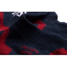 Aclima Running Calze confezione da 2, blu/rosso